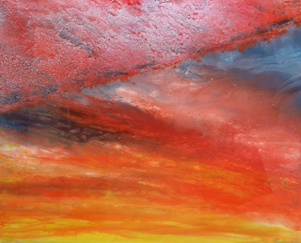 (SOLD) APOCALYPSE SUNSET