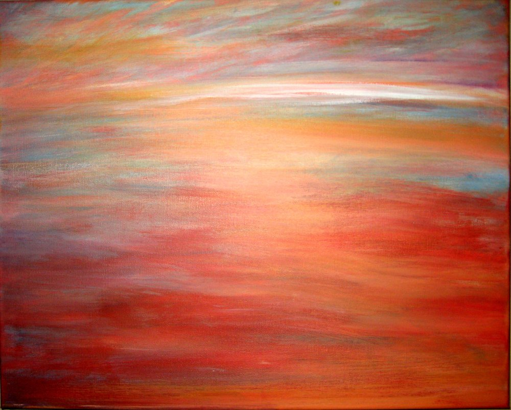 (SOLD) WARM BLEED SUNSET
