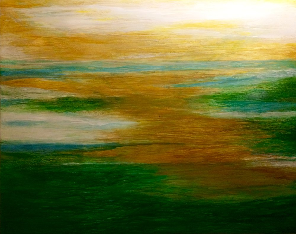 """NOTHING GOLD CAN STAY (48""""X60"""")"""