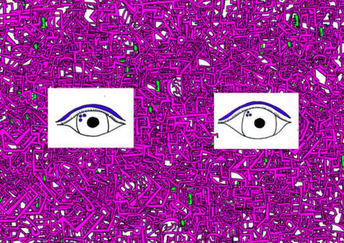 Buzzy eyes