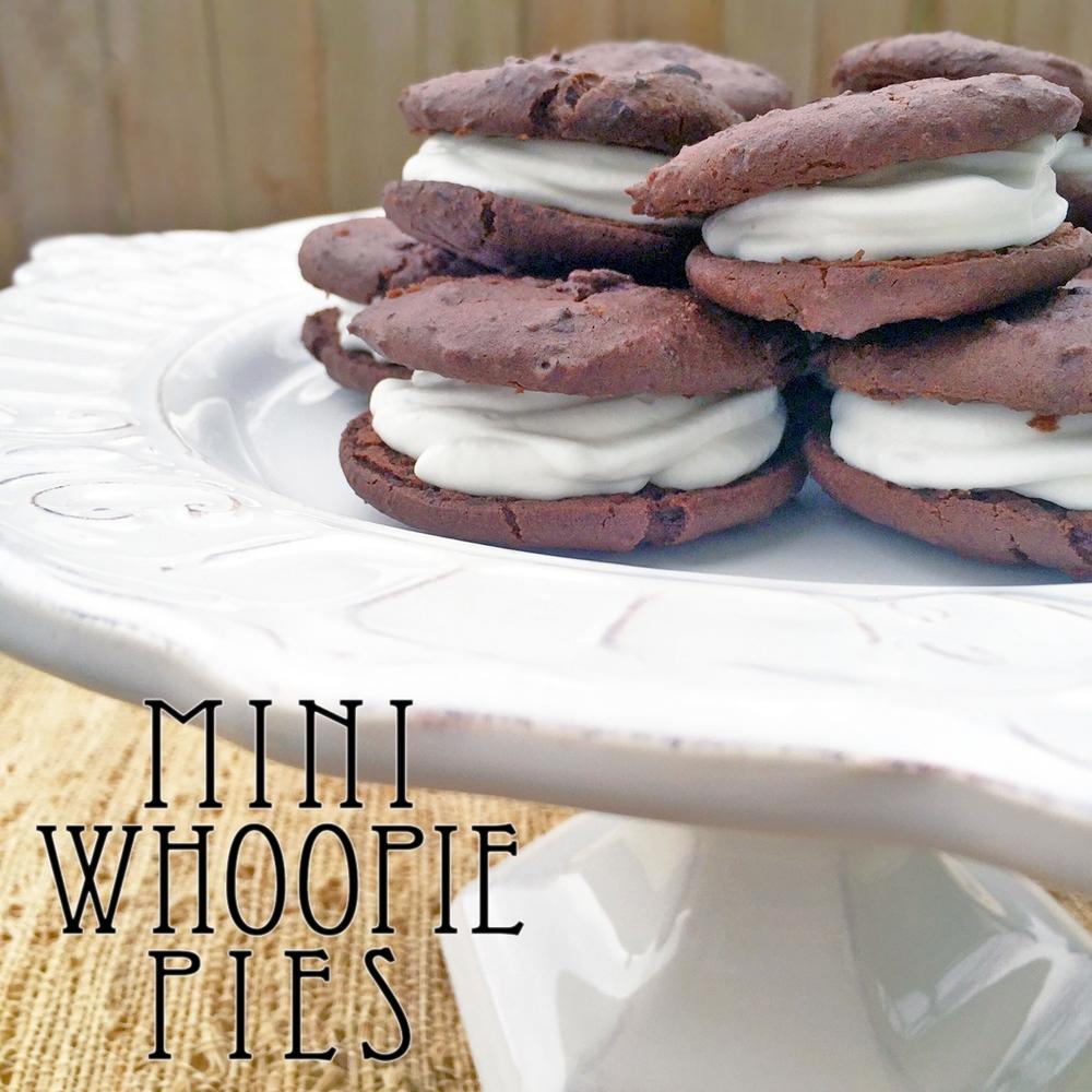 Mini Whoopie Pies