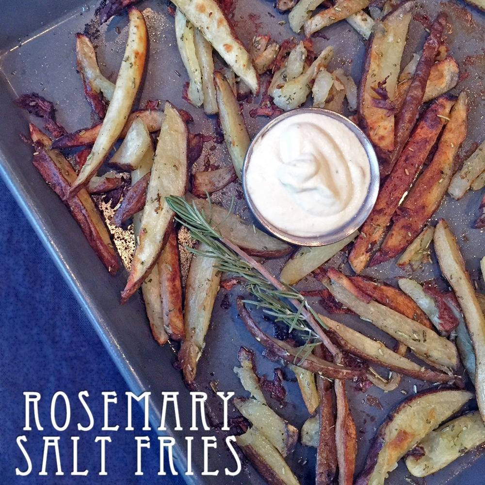 Rosemary Salt French Fries