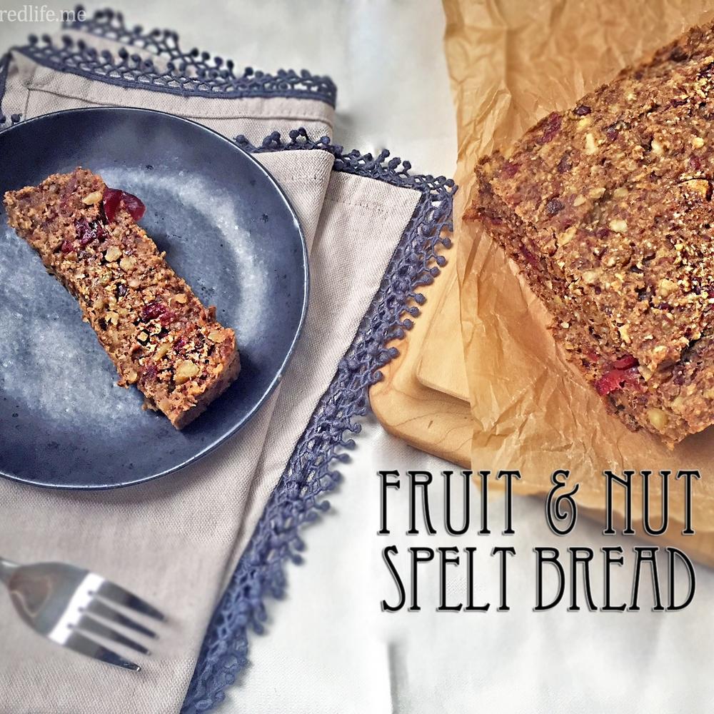 Fruit and Nut Spelt Bread