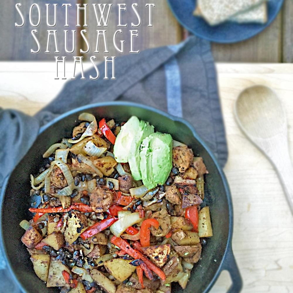 Southwest Sausage Hash