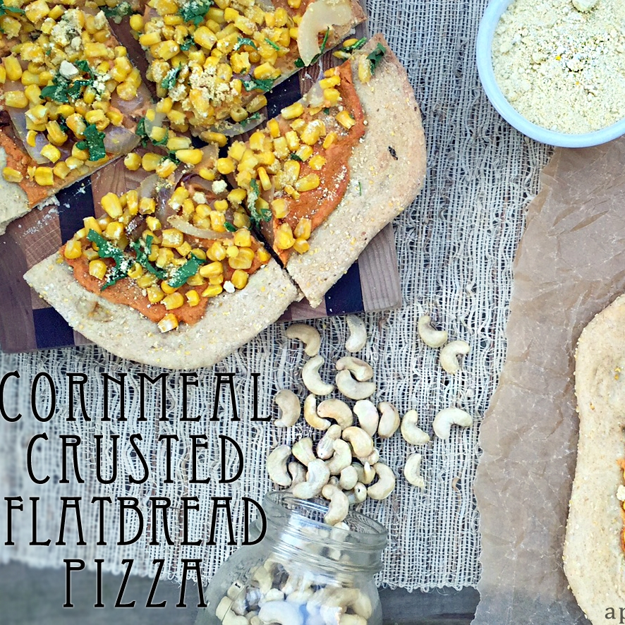 Cornmeal Crusted Flatbread Pizza