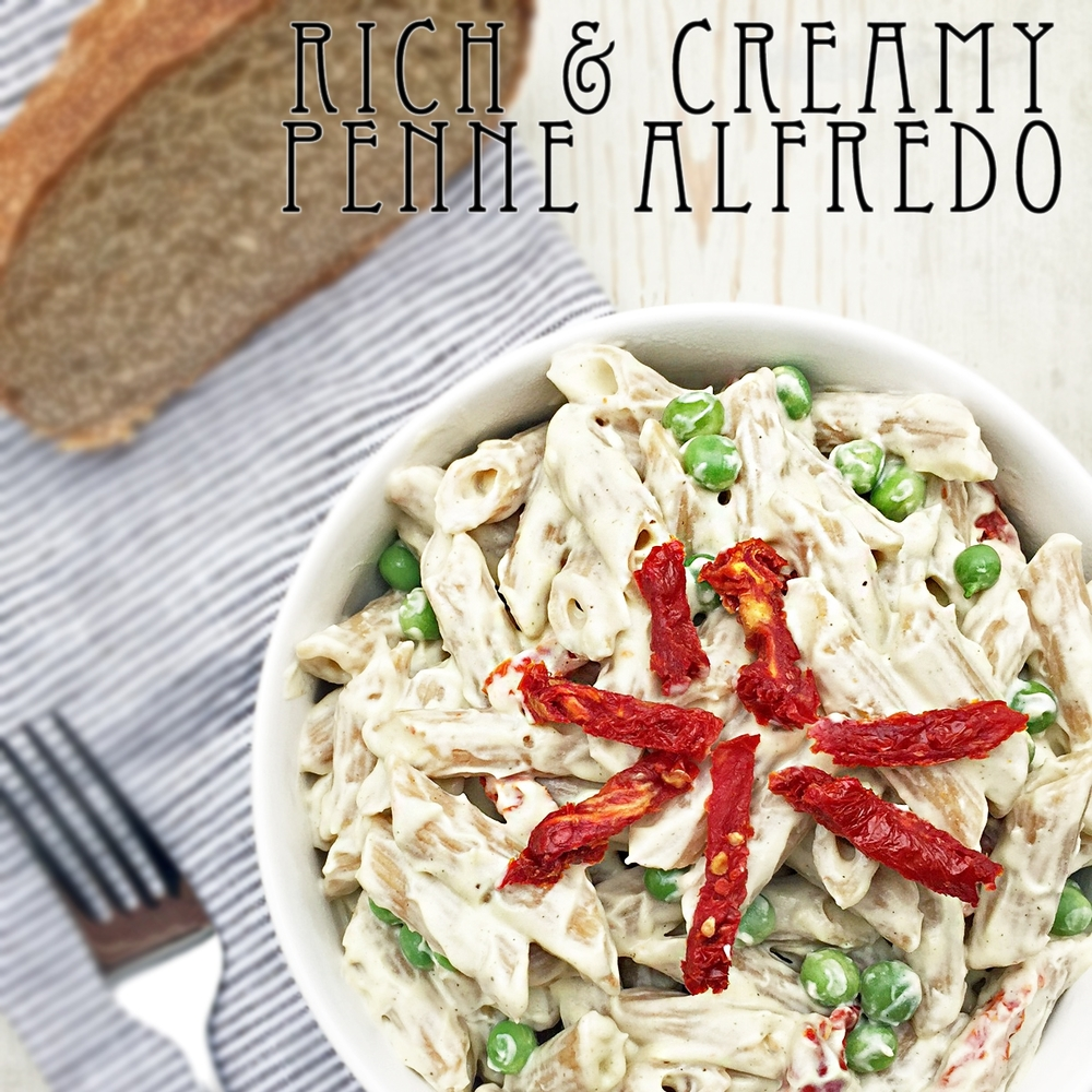 Rich and Creamy Penne Alfredo
