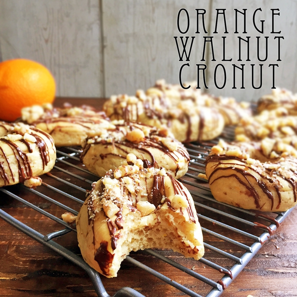 Orange Walnut Cronut