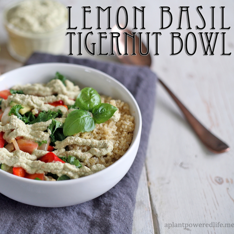 Lemon Basil Tigernut Bowl