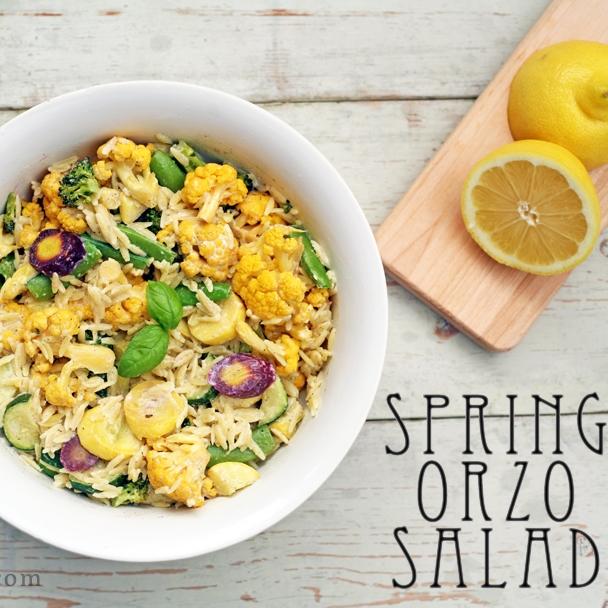 Spring Orzo Salad