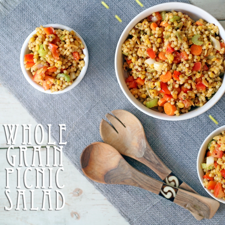 Whole Grain Picnic Salad