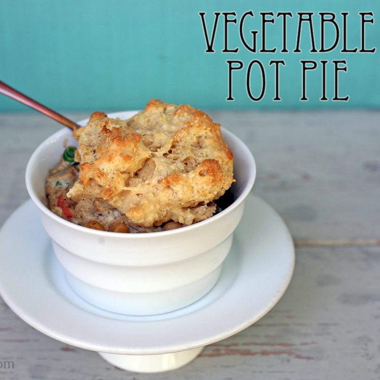 Vegan Vegetable Pot Pie