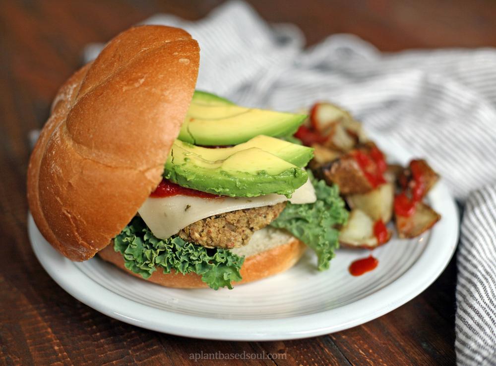 Easy Homemade Vegan and Gluten Free Vegetable Burger