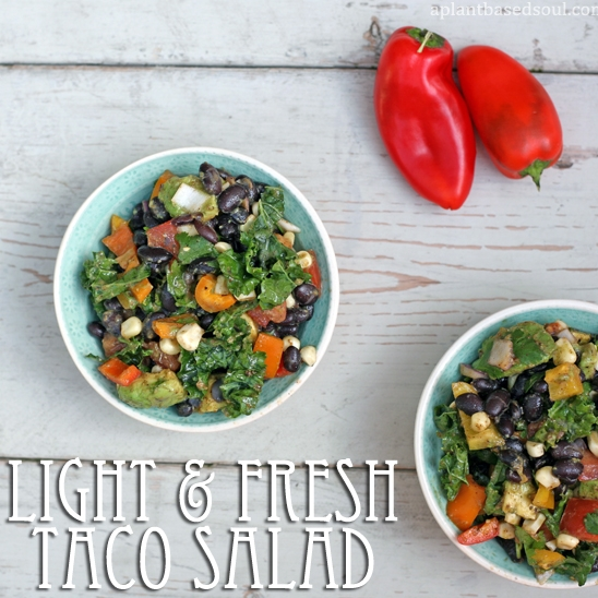 Light and Fresh Taco Salad