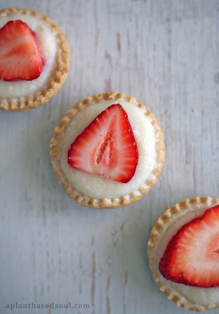 Strawberry Lemon Tarts
