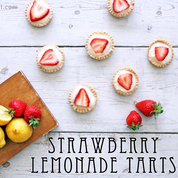 Strawberry Lemonade Tarts