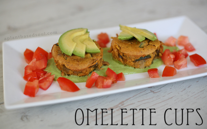 vegan and glutenfree omelette