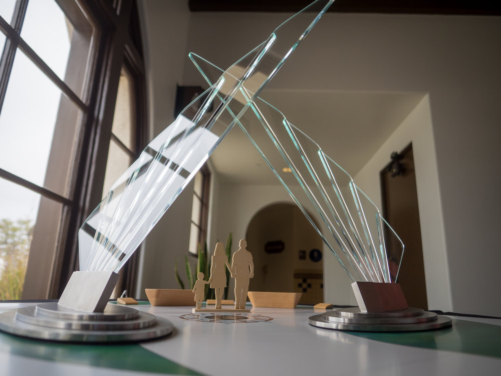 Wings of Honor scale model.