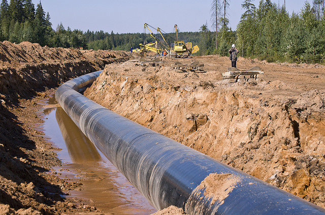 A gas pipeline being built. Credit: National Parks Conservation Association