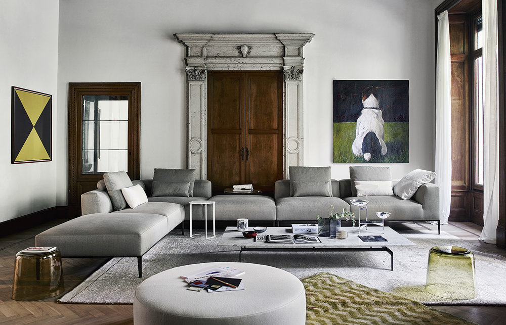 B&B Italia 'Michel Effe' Sofa