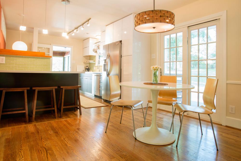 Dining Room & Kitchen Renovation. (Photo: Kent Eanes)