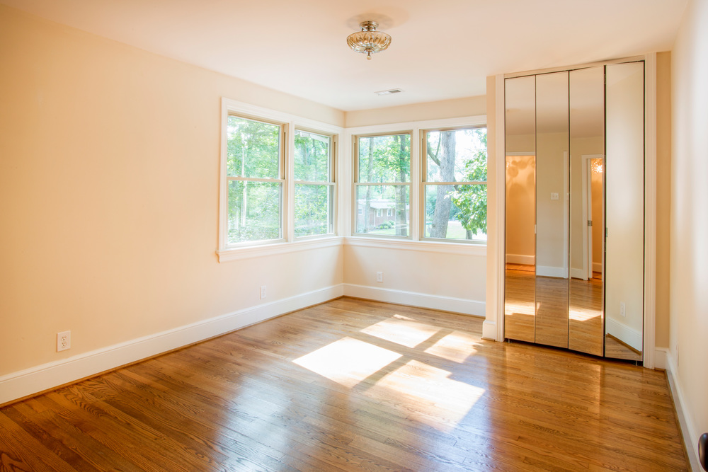 Master Bedroom with new Closet. (Photo: Kent Eanes)