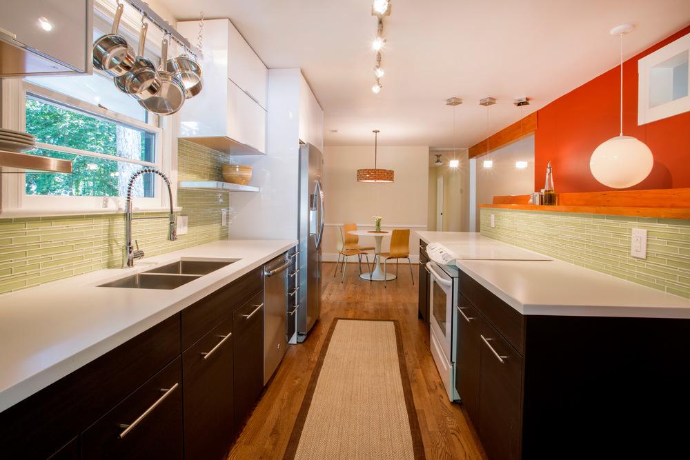 All new kitchen. (Photo: Kent Eanes)