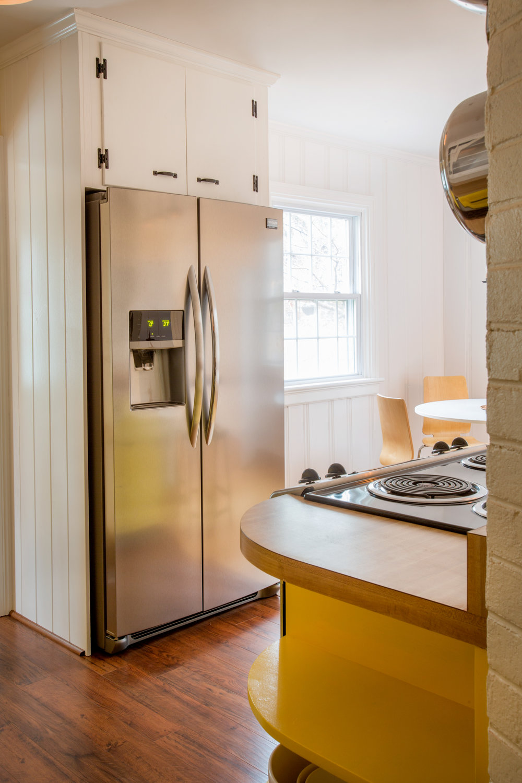 Wainscot Refrigerator Panels. (Photo: Kent Eanes)