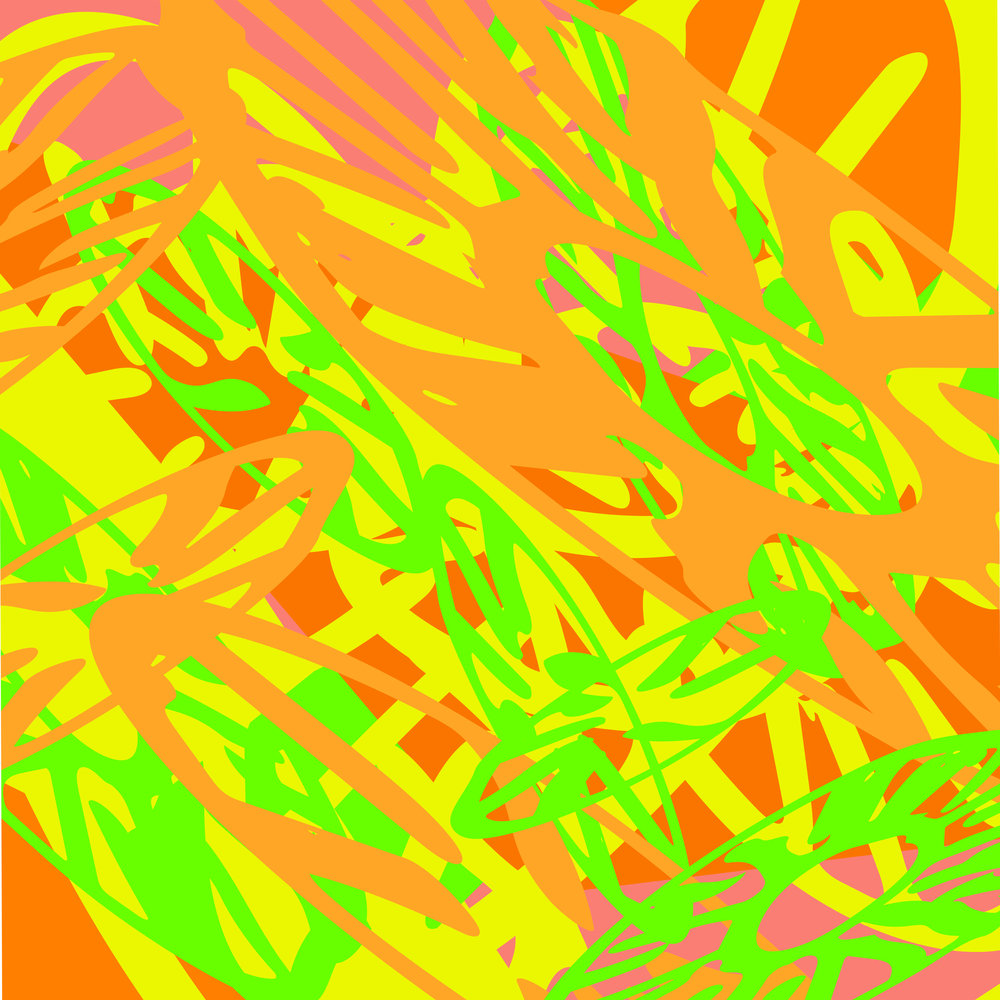 E'FLOMAE LEMON LIME SPLASH TEXTILE PRINT INSPIRED BY POOL SIDE PARTIES ©E'FLOMAE