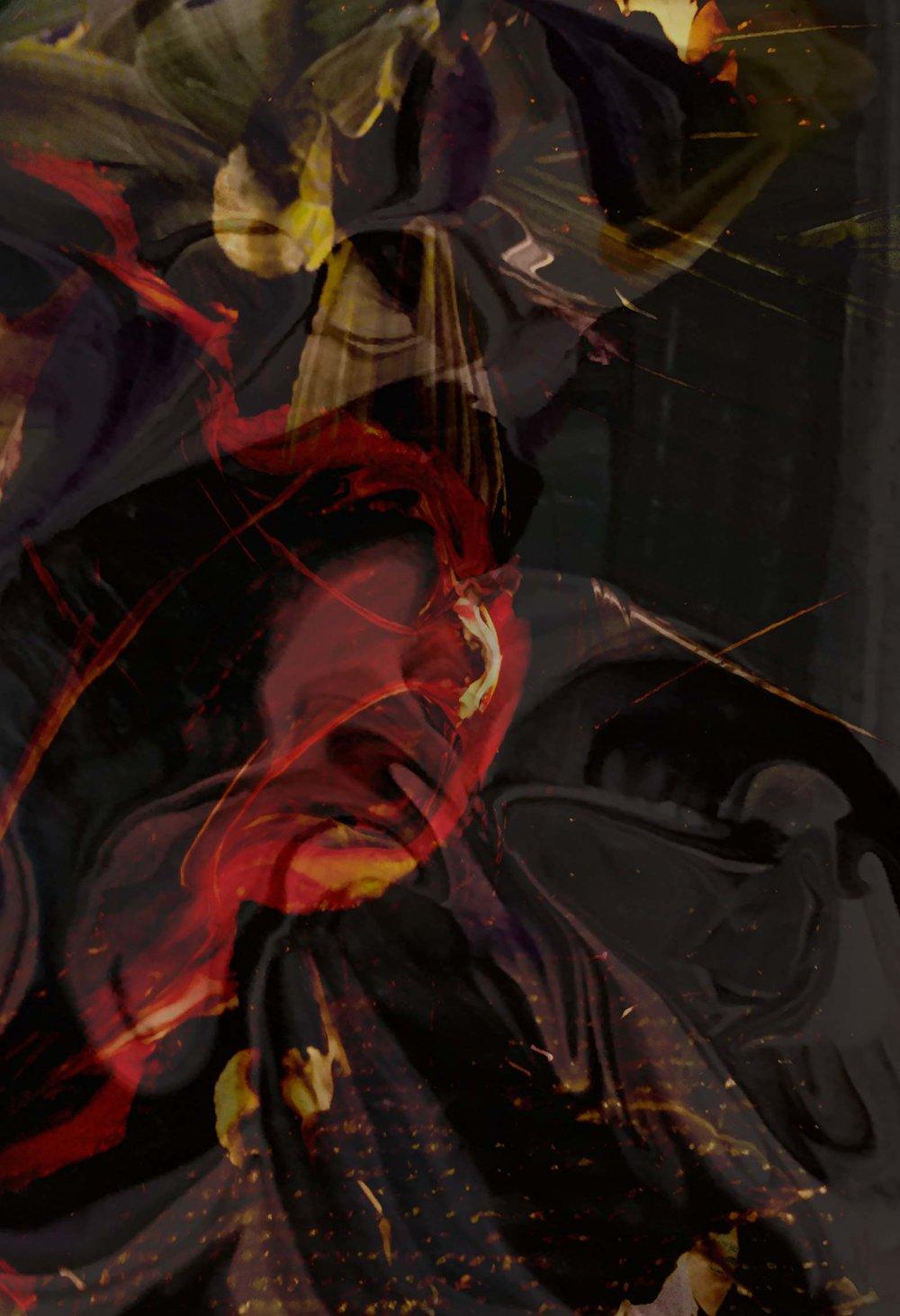 """E'FLOMAE TEXTILE DESIGN -HALLOWEEN INSPIRED- """"GOTHIC THEME"""""""