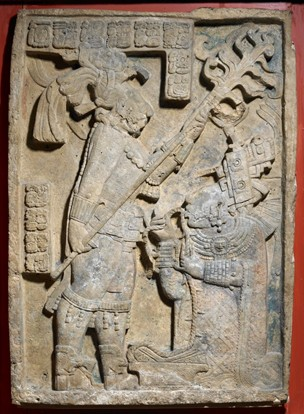 Yaxchilan Lintel 24 © Trustees of the British Museum