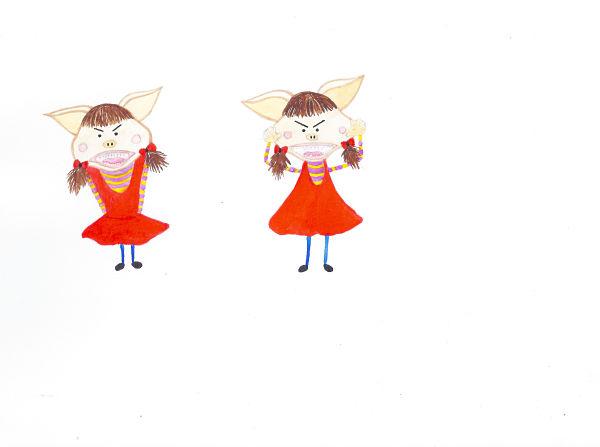 cute little monster — delvina designs