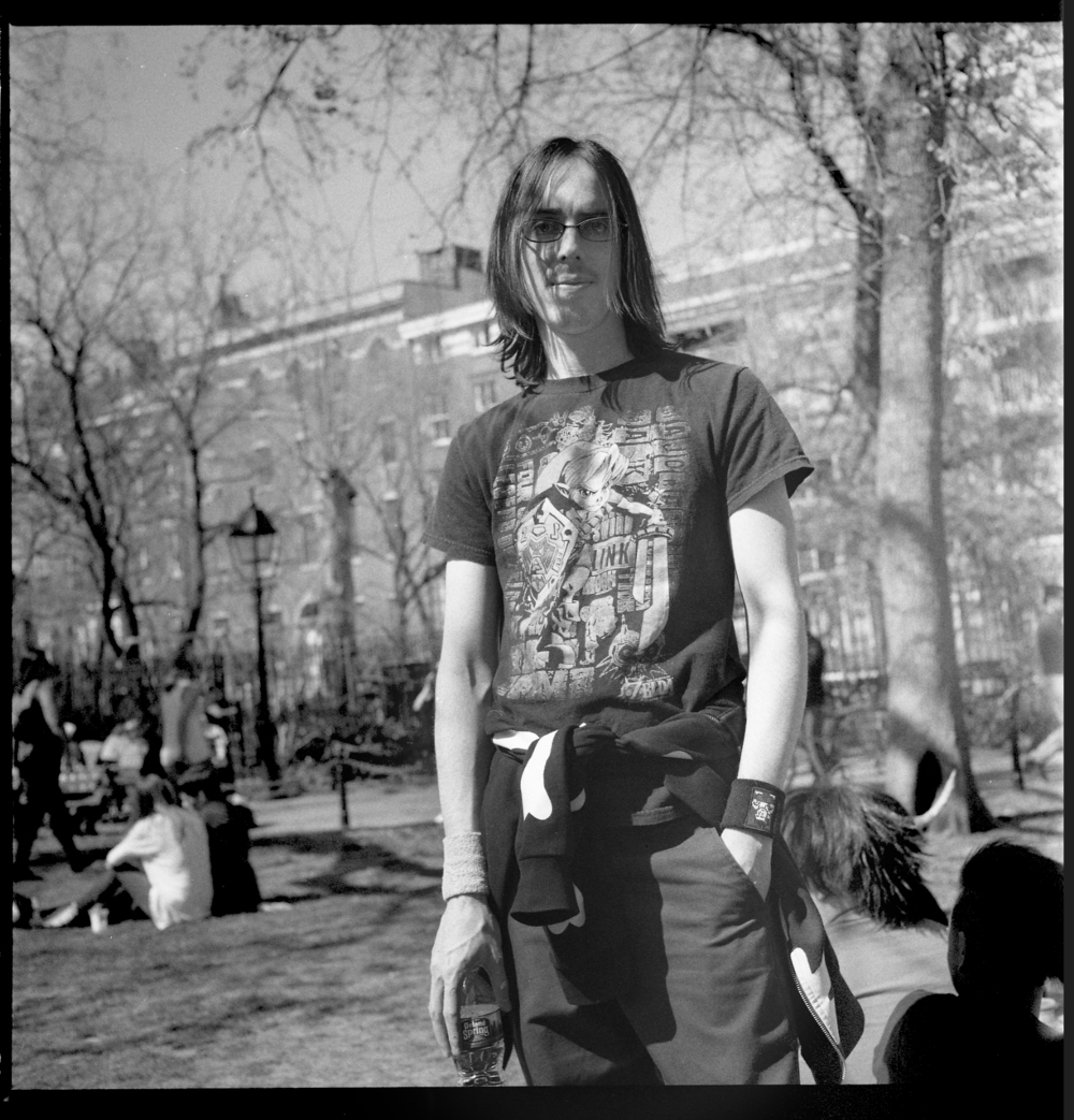 Washington Sq. Park, 2016.
