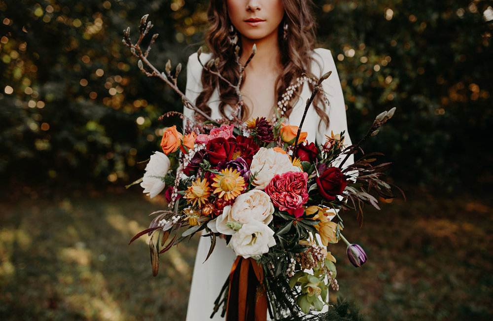 Epic boquet (via @greenweddingshoes)