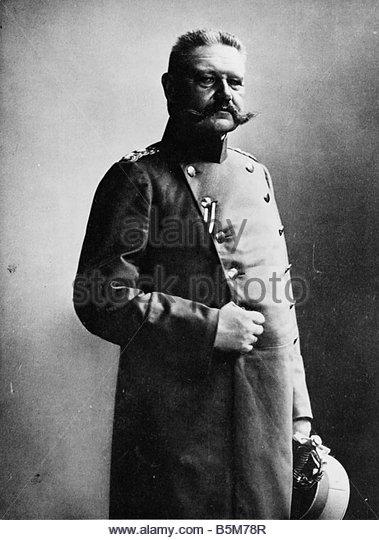 Paul von Hindenburg -- Commander Central Army, Western Front