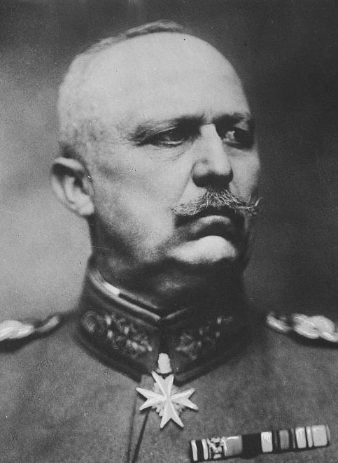 Erich Ludendorff -- Second in Command, Central Army, Western Front