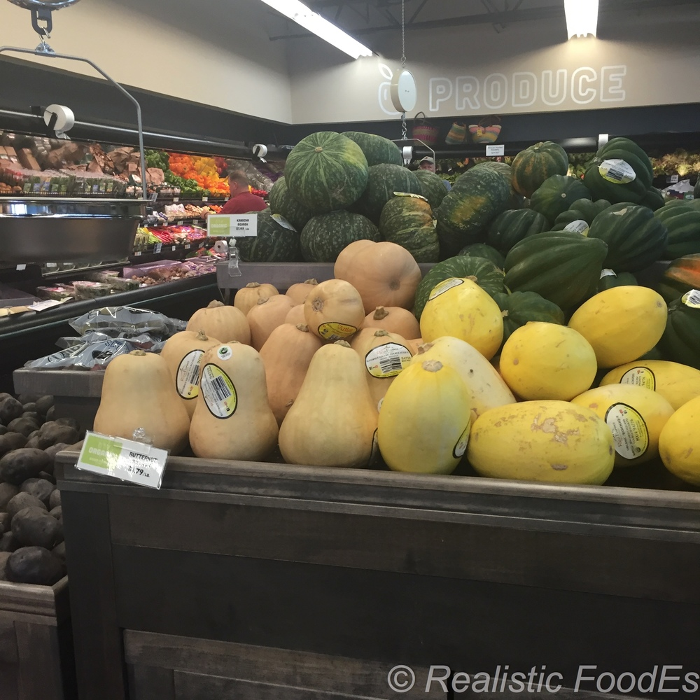 Beautiful display of Winer Squash in the summer :-)