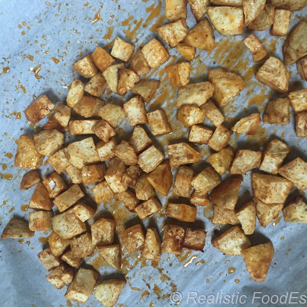 Roasted Celery Root