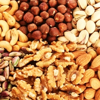 Nuts to snack on, use in salads or when cooking