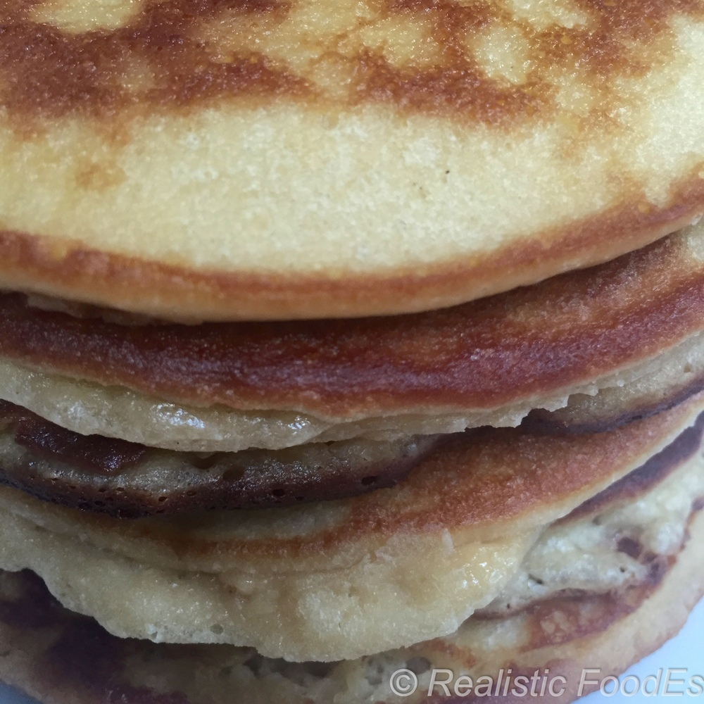 Pancakes made with Almond Flour & Coconut Flour