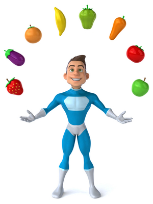 Nutrient Dense foods the Superhero of foods!