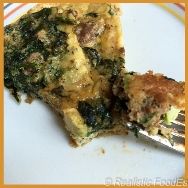 This frittata recipe is a great way to use leftovers. YUM!!!