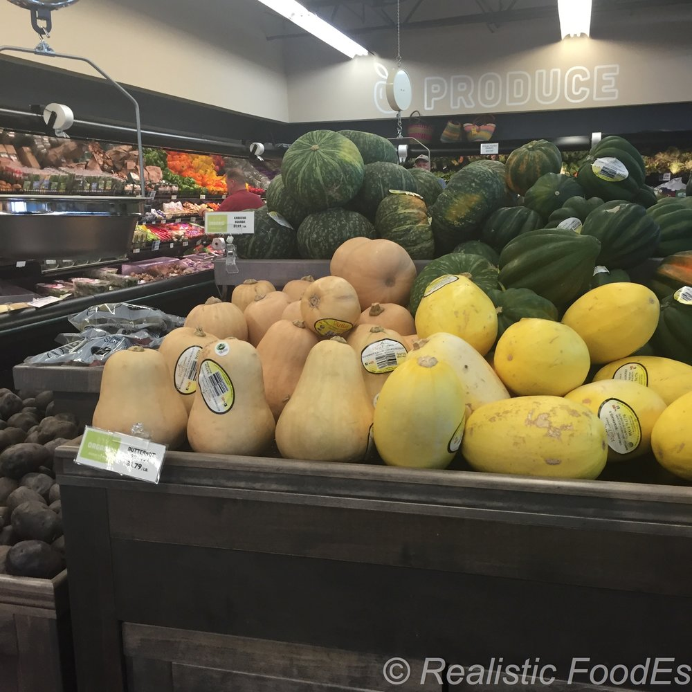 Beautiful display of Winter Squash!