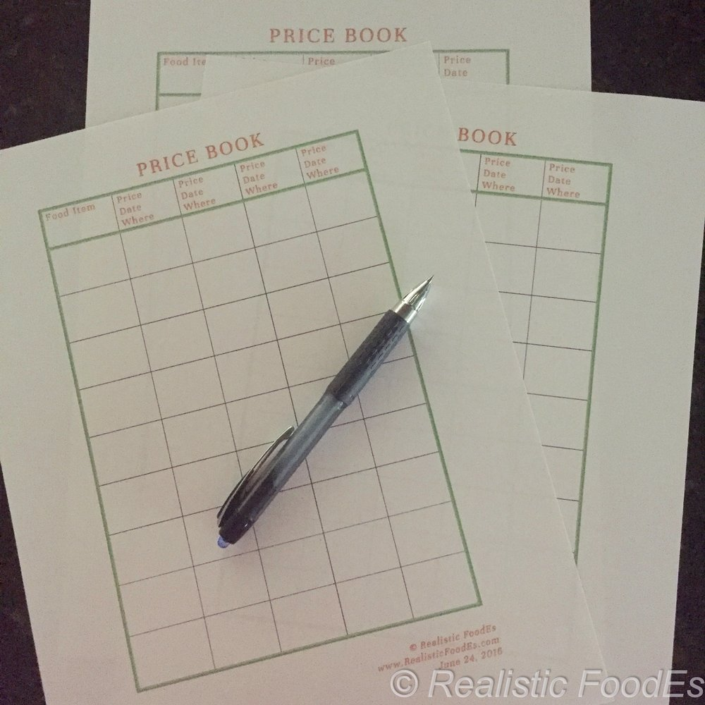 These are Price Book sheets that I created. Please CONTACT me if you are interested in a PDF download.
