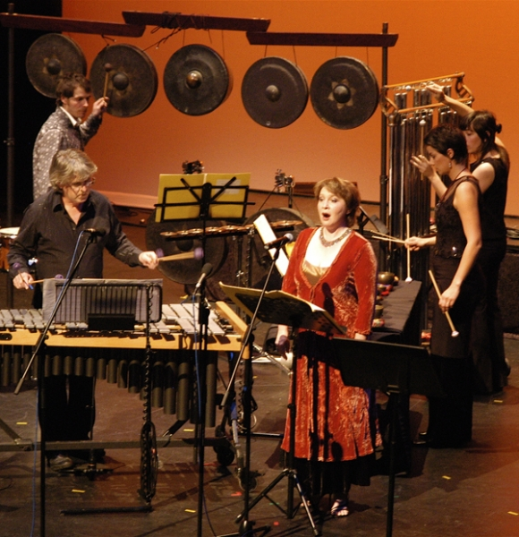 with Synergy Percussion, Tehillim 2007