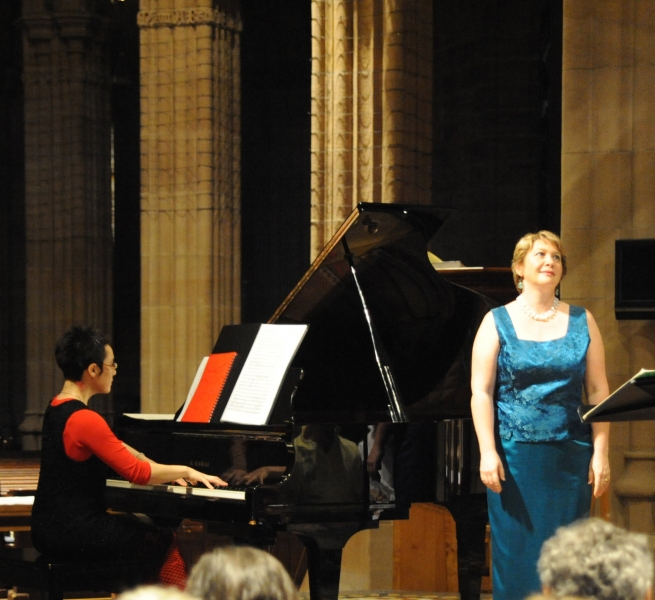 Recital with pianist Sally Whitwell, 2008