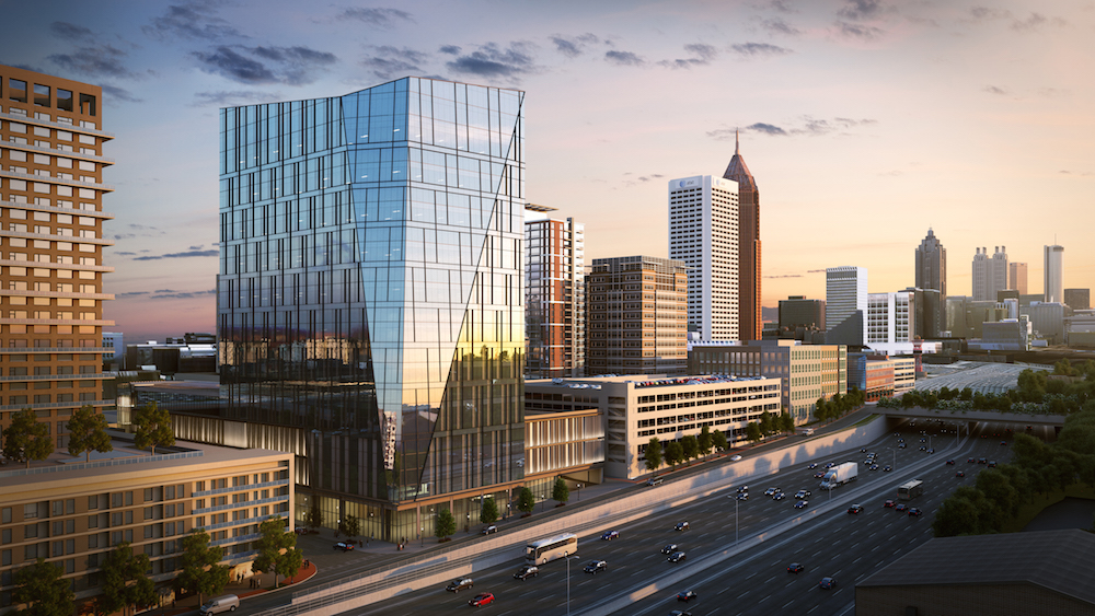 NCR's global headquarters will employ an estimated 3,600 workers.