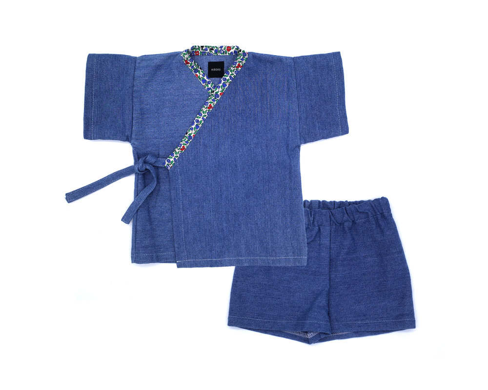 TOP KIMONO AND SHORT SETS