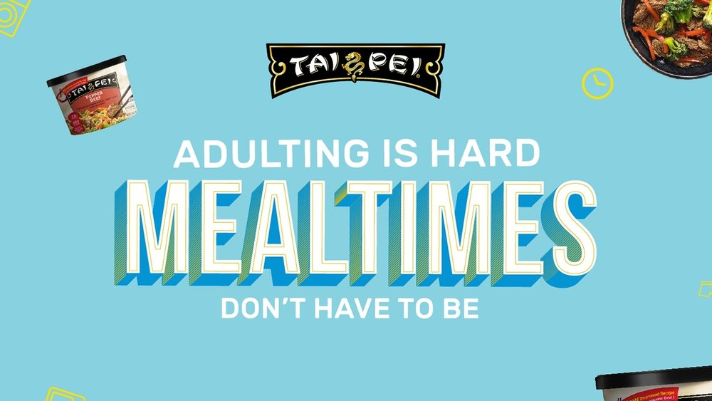 +  ADULTING IS HARD. MEALTIMES DON'T HAVE TO BE.