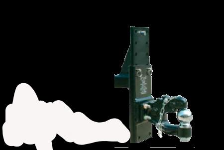 Adjustable Tow Hitch >> Adjustable Pintle Ball Mount Hitches Gladiator Hitch Adjustable