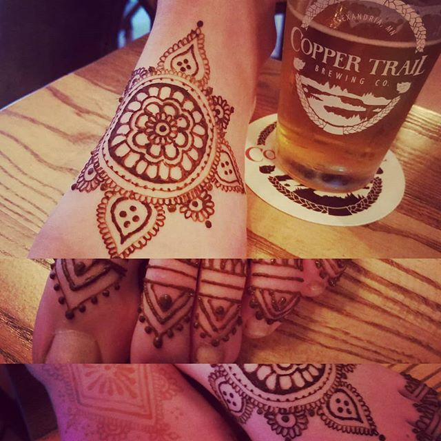 Henna & Hops @coppertrailbrewingco with @elsawadsworth